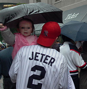 Jeter baby, photo by Pat Arnow