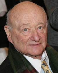 Former Mayor Ed Koch, who comes to many events