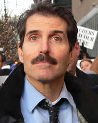 John Stossel, TV reporter of the right-wing persuasion. (Arnow photo)