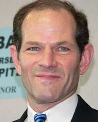 Former Gov. Eliot Spitzer before his downfall. (Arnow photo)