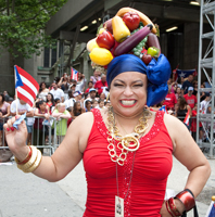 Puerto Rican Day Parade. Photo by Pat Arnow
