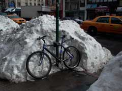 This bike has never seen the underside of a snowdrift, 02.03. Photo by Pat Arnow