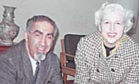 Edna and Bob Arnow in 1970